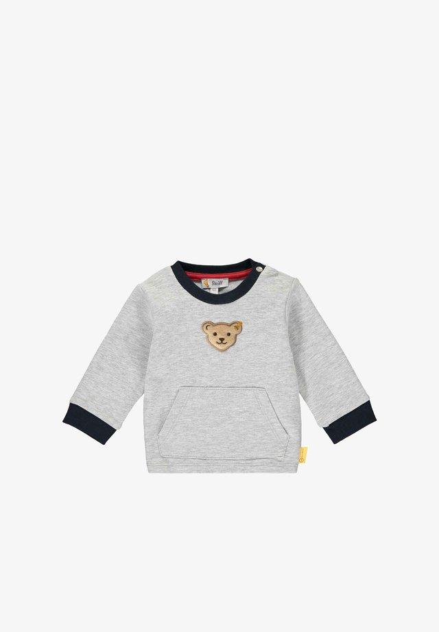 Sweatshirt - soft grey melange