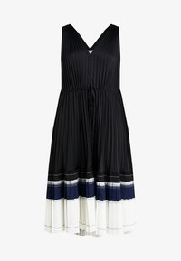 3.1 Phillip Lim - VNECK PLEATED DRESS - Cocktail dress / Party dress - black - 4