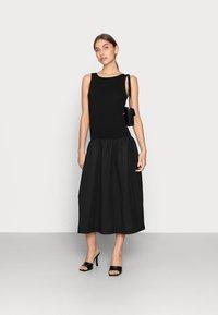 ARKET - DAY DRESS - Vestito estivo - black - 1