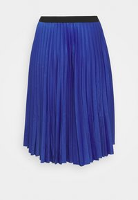 CAPSULE by Simply Be - PLEATED WRAP SKIRT - Wrap skirt - blue - 1