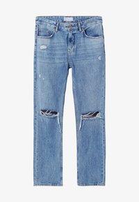 Bershka - Jeans straight leg - blue denim - 4