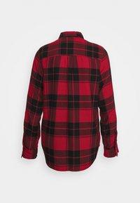 Hollister Co. - UPDATE - Bluse - red/black - 1