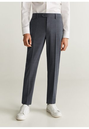 TRAVEL - Pantalon de costume - grau