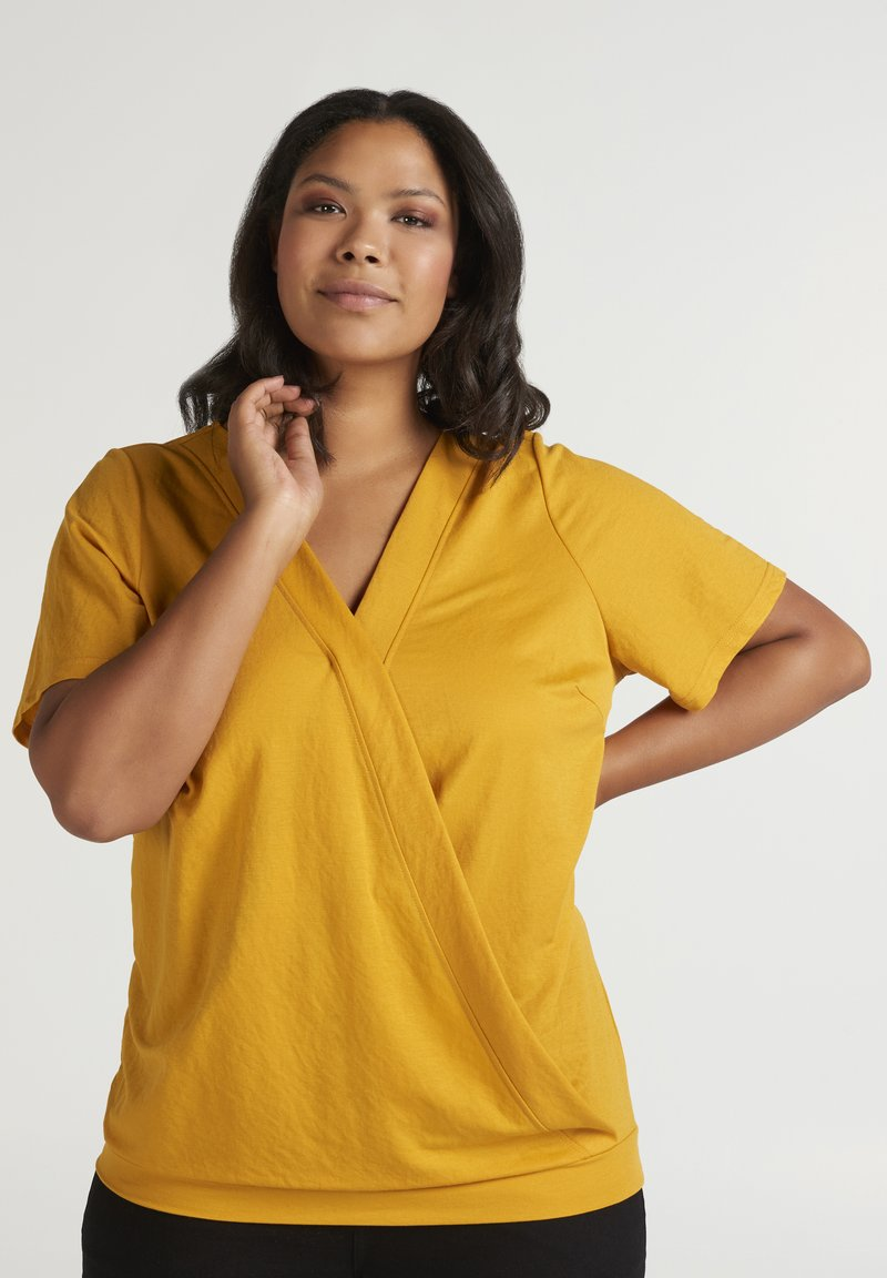 Zizzi - Blouse - yellow