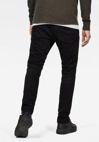 G-Star - 3301 SLIM - Slim fit jeans - pitch black - 1