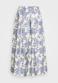 LONG SEVERIN - A-line skirt - off white