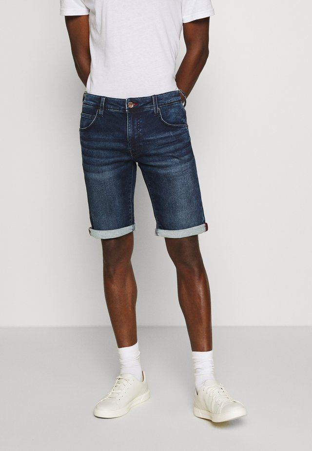 JEFFERSON - Jeansshort - dark blue