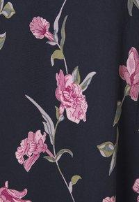 PIECES Tall - PCGLYDA MIDI DRESS - Shirt dress - sky captain/winsome orchid flowers - 6
