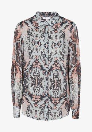 EMMY - Button-down blouse - grey