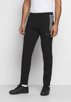 BVB BORUSSIA DORTMUND EVOSTRIPE PANTS - Pantaloni sportivi - black/castlerock