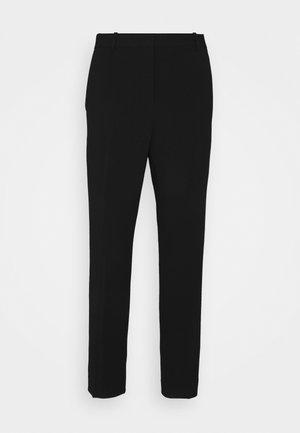 TREECA - Kalhoty - black