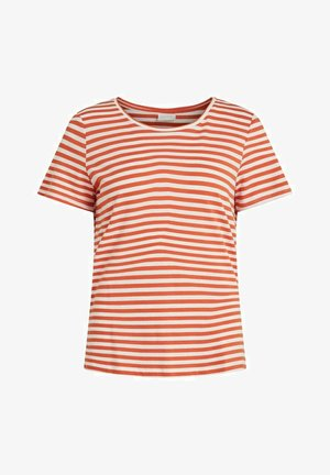 VISUS NOOS - Print T-shirt - burnt ochre