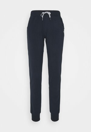 WOMAN LONG PANT - Tracksuit bottoms - navy
