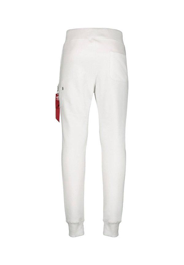 Alpha Industries PANT - Spodnie materiałowe - weiss/biały Odzież Męska QBGE