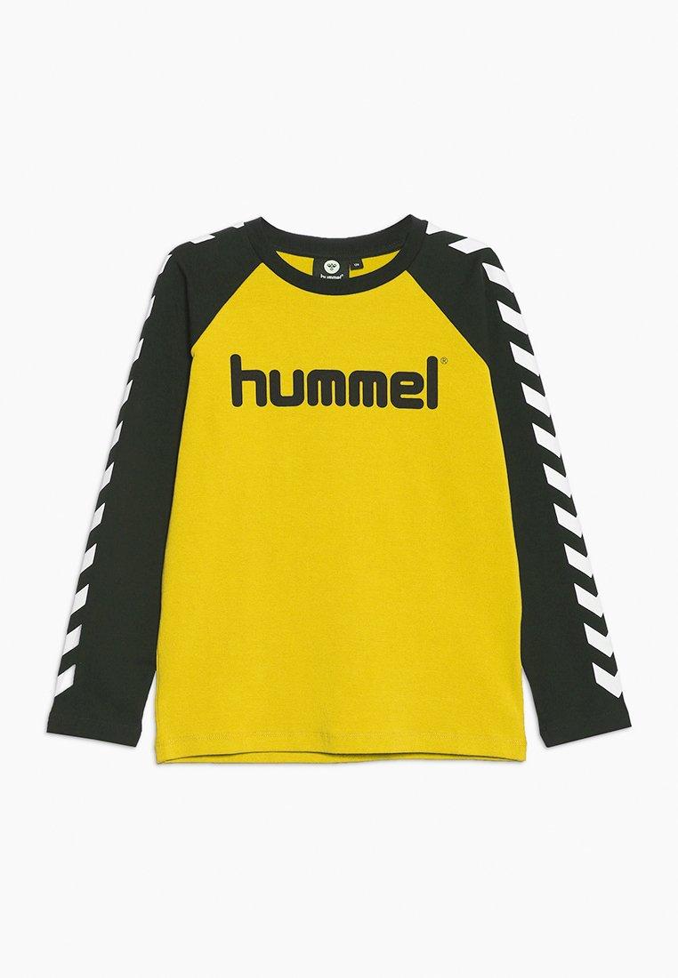 Hummel - Topper langermet - sulphur