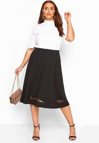 Yours Clothing - A-line skirt - black - 1