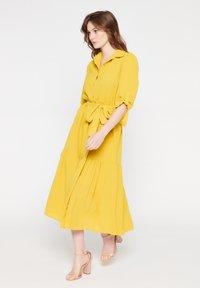 LolaLiza - Shirt dress - yellow - 1