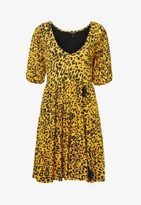 Desigual - FLOUNCES - Day dress - yellow - 4