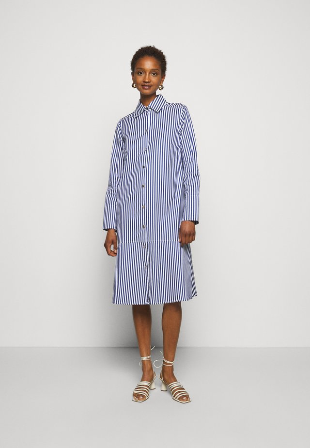 EASE - Shirt dress - royal