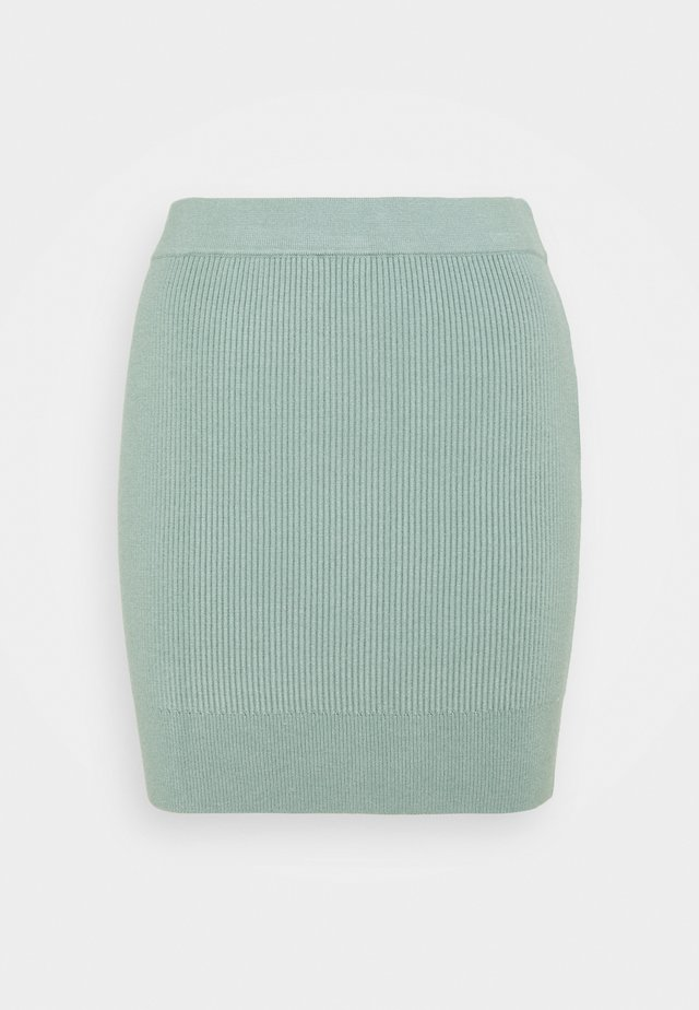 FLOWLER SKIRT - Mini skirt - green