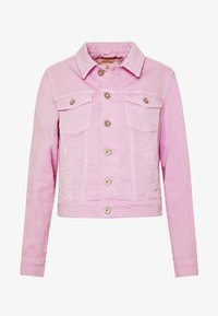 Marc O'Polo - JACKET BUTTON CLOSURE GARMENT DYED - Denim jacket - bleached berry - 5