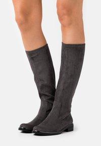 Caprice - BOOTS - Vysoká obuv - dark grey - 0
