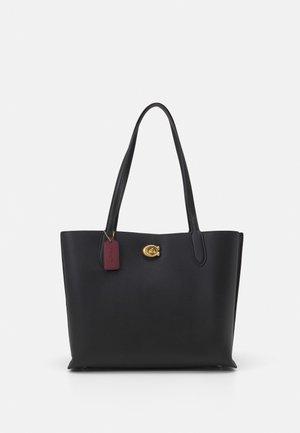 WILLOW TOTE - Handbag - black