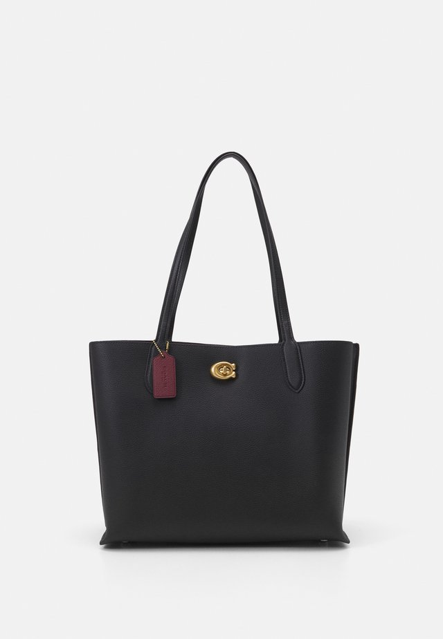 WILLOW TOTE - Handväska - black
