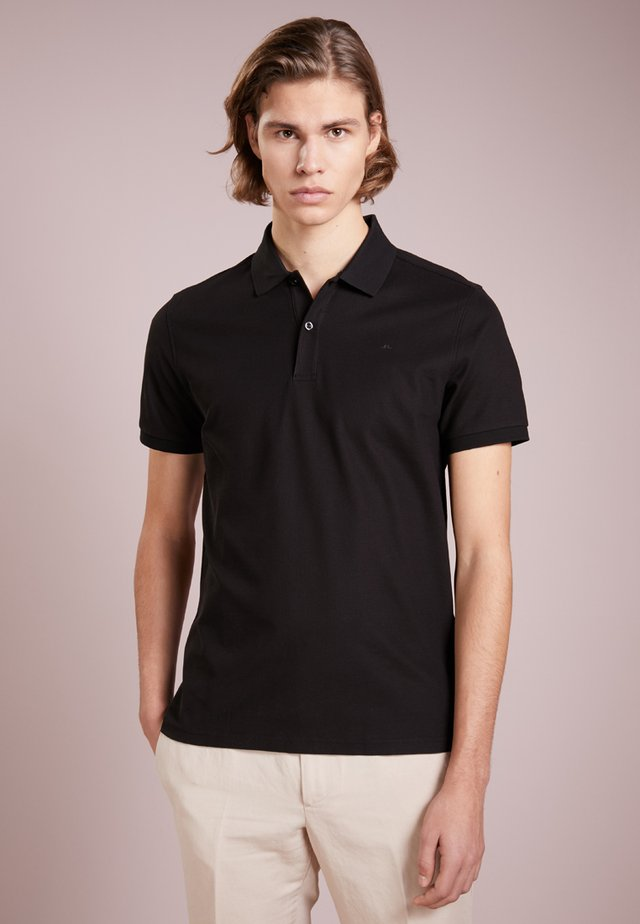 TROY CLEAN - Polo - black
