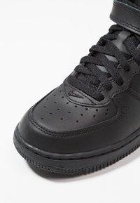 Nike Sportswear - AIR FORCE 1 MID - High-top trainers - black - 2