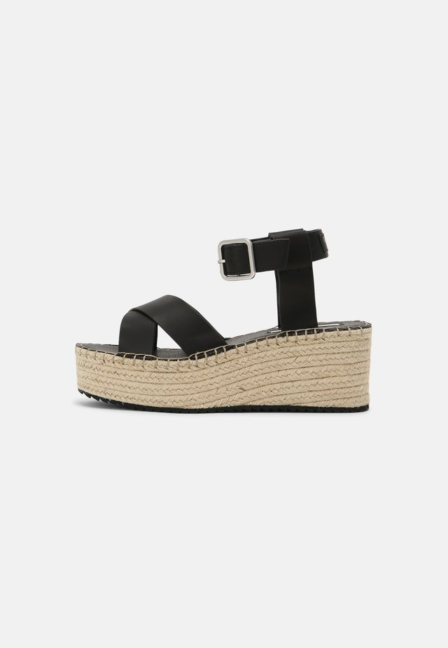 WITNEY ELLA - Platform sandals - black