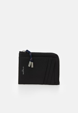 NATHAN ZIPPED CARDS HOLDER - Peněženka - noir
