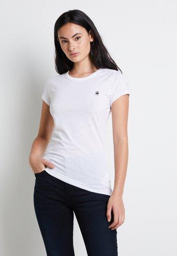 EYBEN SLIM - T-shirts - white