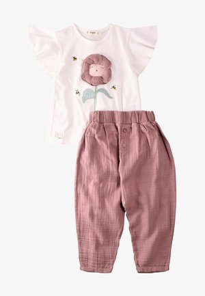 SET - Trousers - off white
