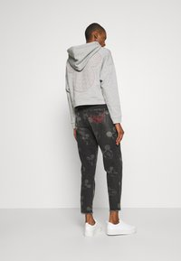 Desigual - MERY MICKEY - Relaxed fit jeans - denim black - 2
