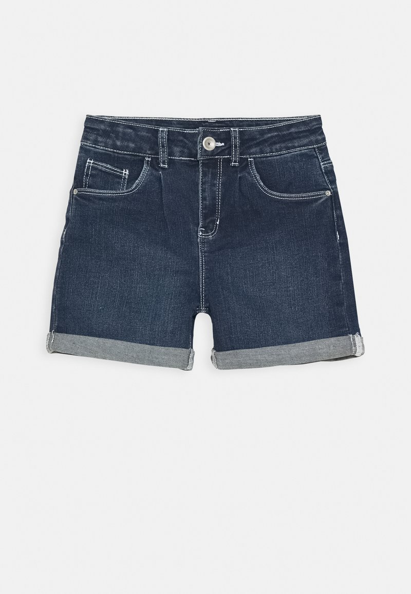 Name it - NKFROSE DNMACECE MOM - Short en jean - dark blue denim