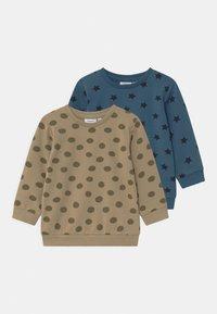 Name it - NBMTILOP 2 PACK - Sweatshirt - silver sage - 0