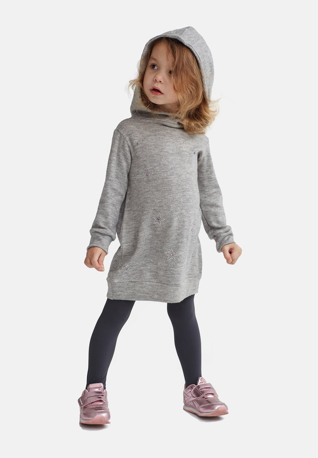 WITH RHINESTONES - Sweatshirts - grey
