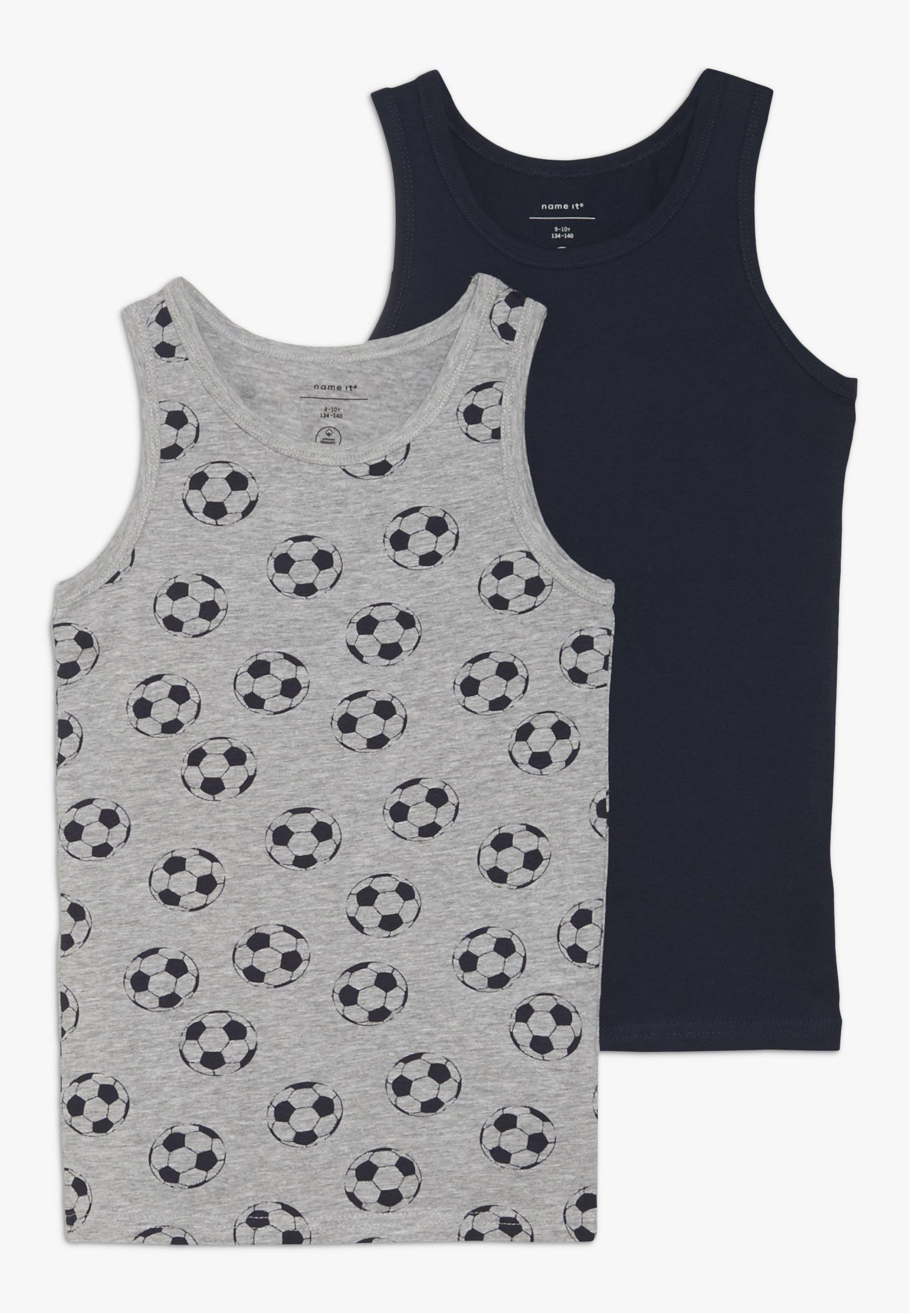 Niño NKMTANK FOOTBALL 2 PACK - Camiseta interior