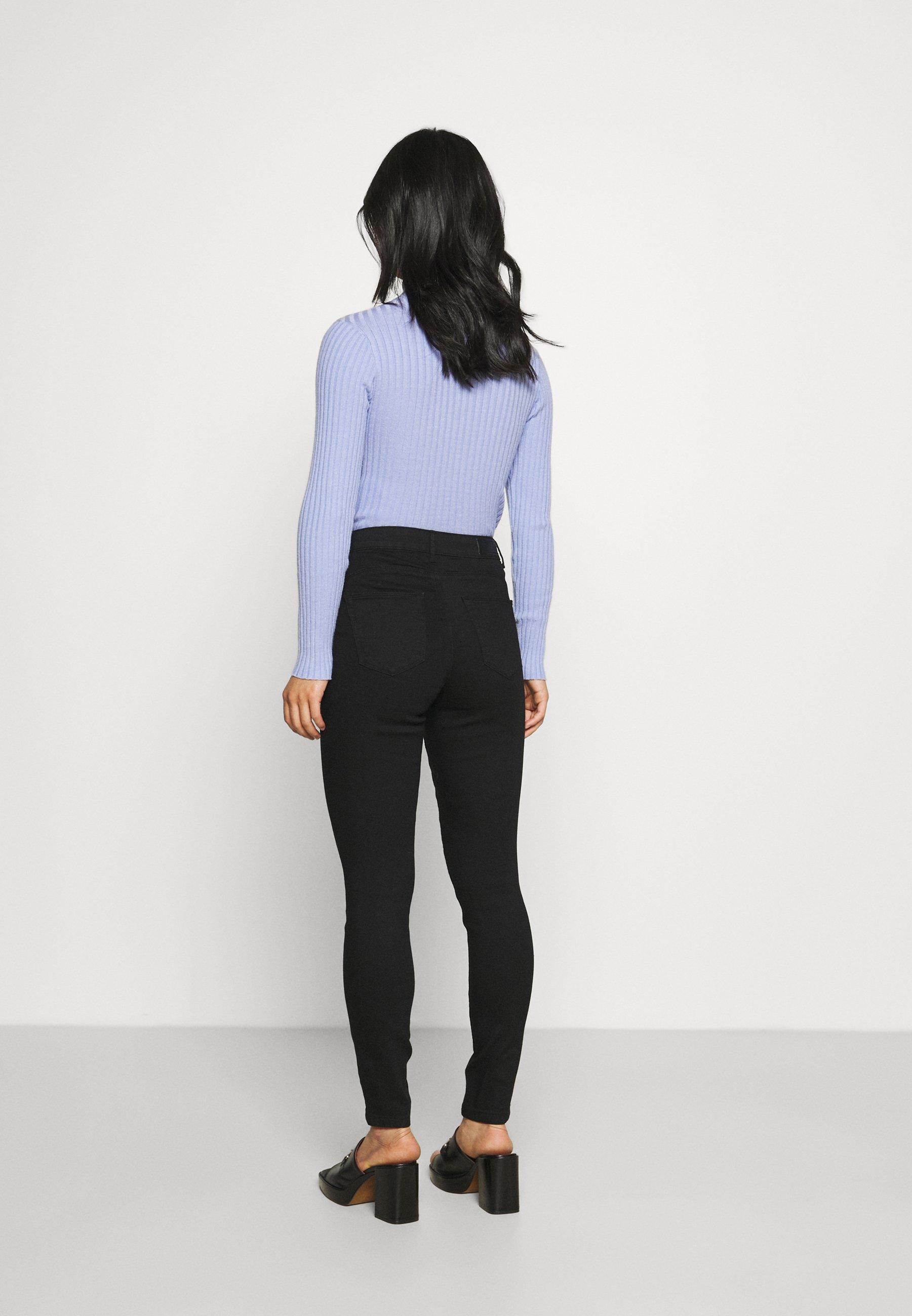 Women ONLIRIS MID PUSHUP - Jeans Skinny Fit