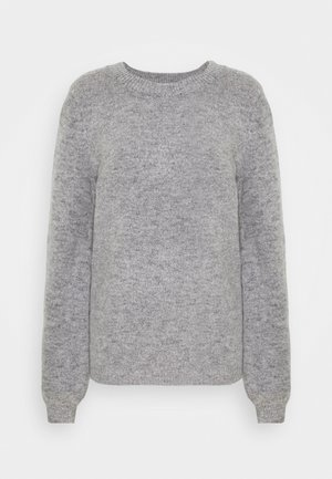 OBJEVE NONSIA - Strikpullover /Striktrøjer - light grey melange