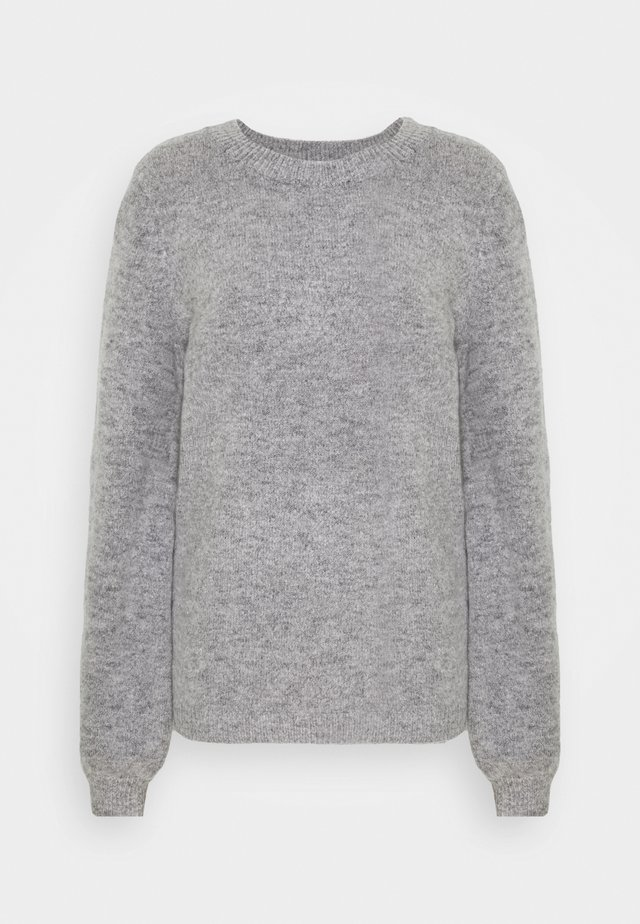 OBJEVE NONSIA - Jumper - light grey melange