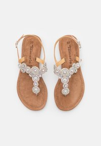Tamaris - T-bar sandals - silver glam - 5