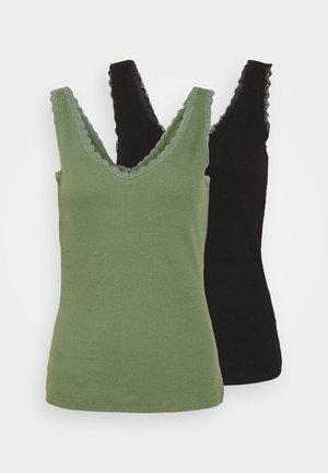 2 PACK - Linne - black/light green