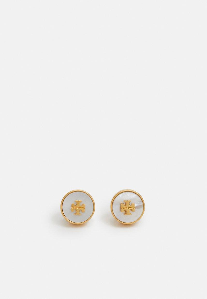 Tory Burch - KIRA CIRCLE STUD EARRING - Náušnice - gold-coloured