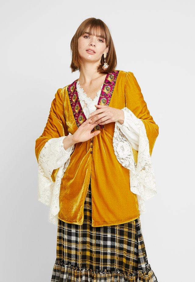 WANDERLUST JACKET - Summer jacket - gold