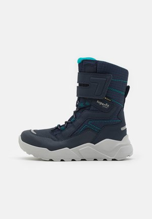 ROCKET - Botas para la nieve - blau/grün