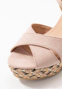 Anna Field - Korolliset sandaalit - rose - 2