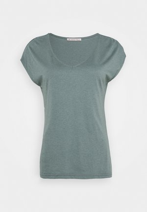 T-shirts - petrol melange