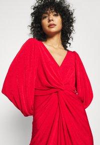 Closet - LONDON TWIST PENCIL DRESS - Jersey dress - red - 3